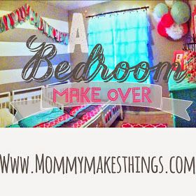Mommy Makes Things : Triplets Bedroom Makeover