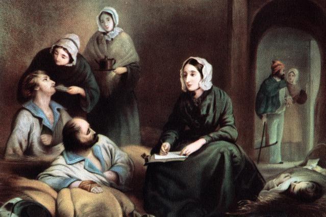 15 Notable Florence Nightingale Quotes: Florence Nightingale - Crimea Hospital