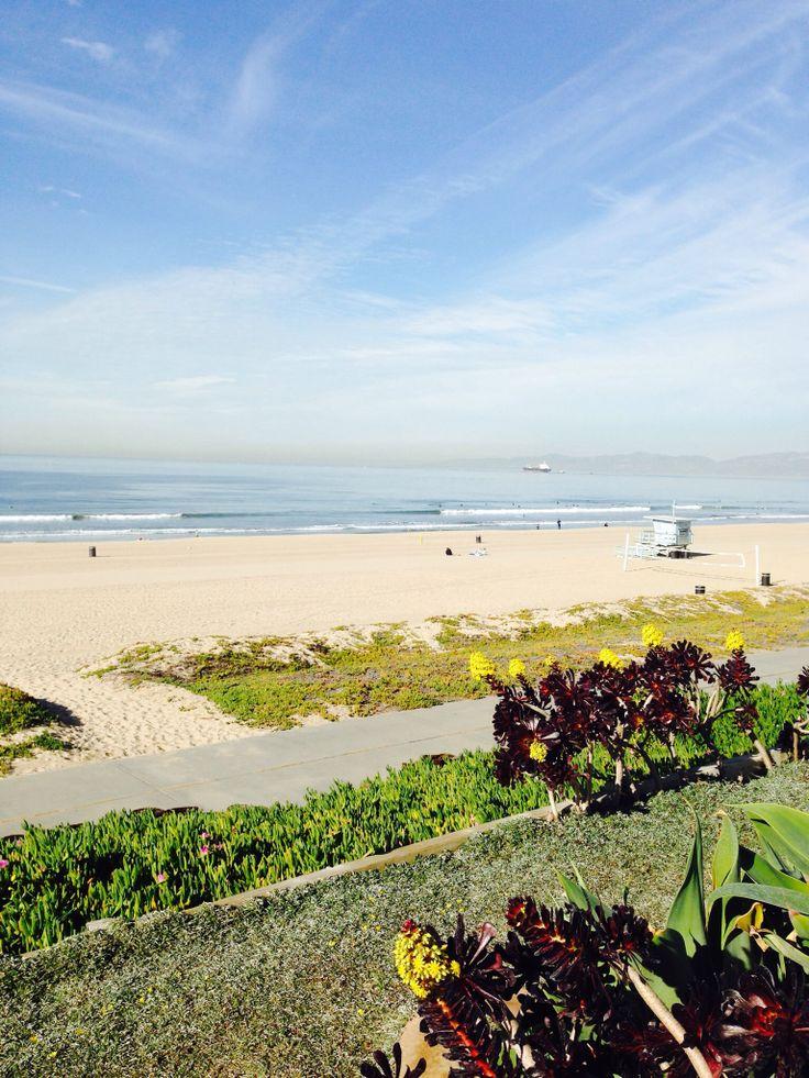 View from The Strand Manhattan Beach CA