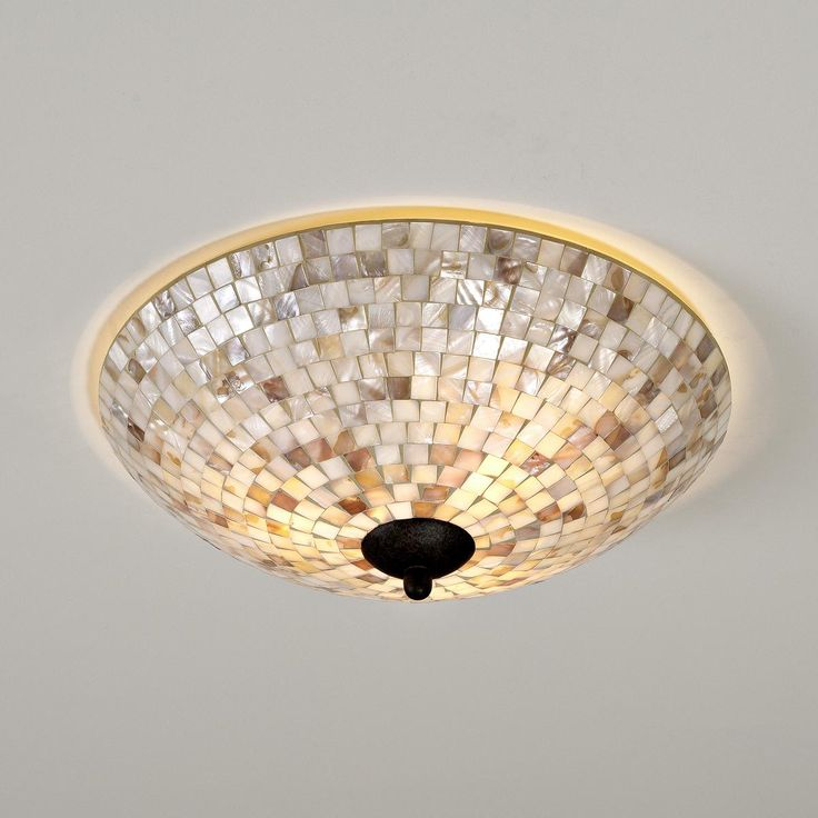 Mother of Pearl Ceiling Light