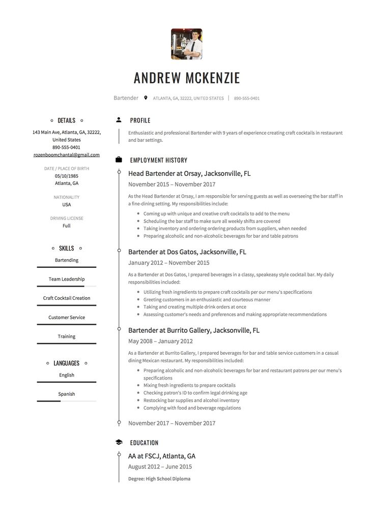 36 best Resume Samples images on Pinterest