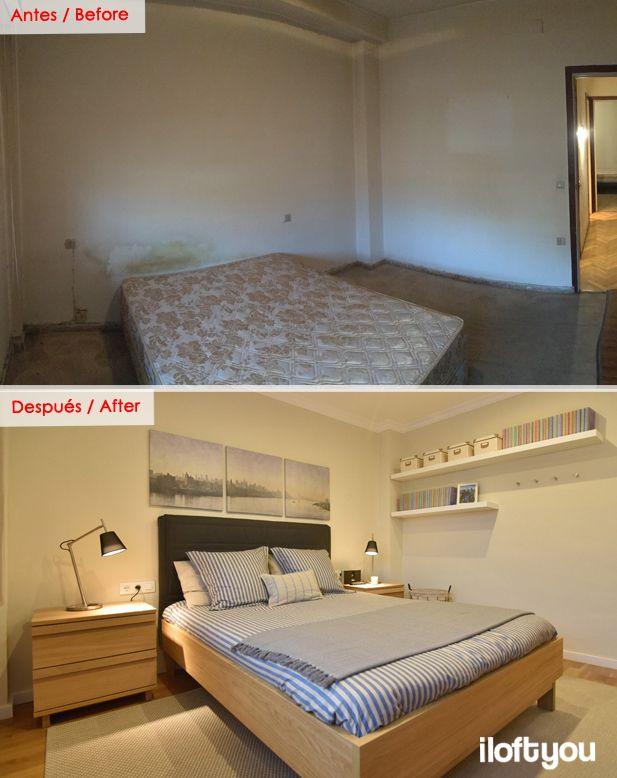 #proyectoavmadrid #iloftyou #interiordesign #barcelona #ikea #ikealover #ikeaaddict #before #after #antes #despues