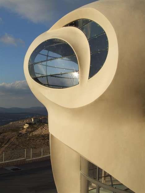 Bio-Glamour Architecture  Architect Ephraim-Henry Pavie Creates an Aesthetically Eco-Friendly Home #eco #green