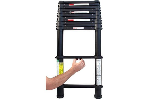 Tactical Telescoping Extension Ladder