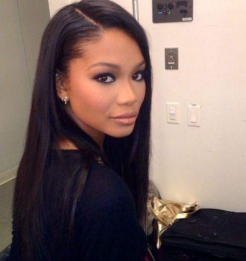 Chanel Iman December 1, 1990  Atlanta, Georgia, United States Height 1.78 m Hair color Black Eye color 	Brown