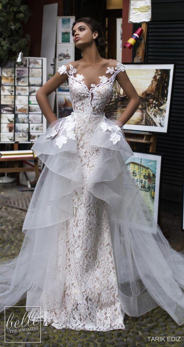 Tarik Ediz Wedding Dresses 2019 Belle The Magazine Wedding Dresses Strapless Wedding Dresses Bridal Dresses