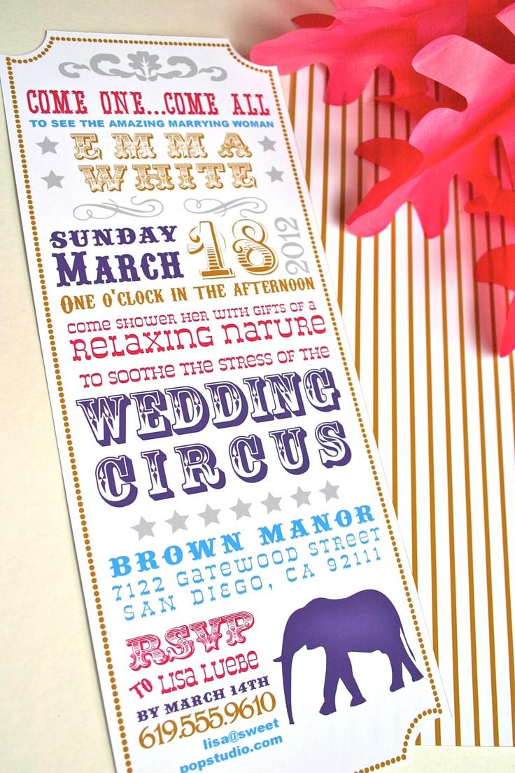 Circus Theme Wedding Wedding Circus Theme Pinterest. Circus ...