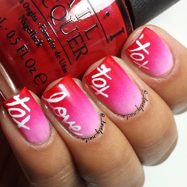 Valentine S Day Nails Art: 1000+ Images About (: Nail Art #13 :)Valentine's Day On