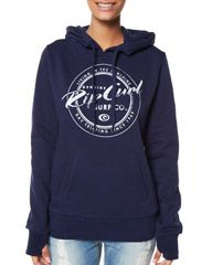 RIP CURL DAY TRIPPIN HOODIE - PEACOAT on http://www.surfstitch.com