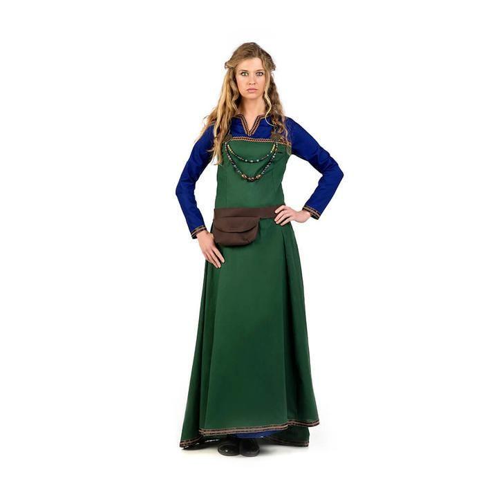 Disfraz de vikinga campesina