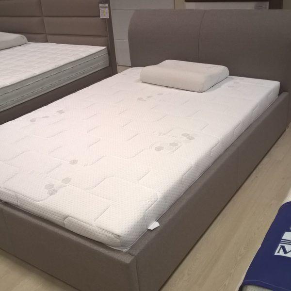 Okazja - nowe łóżko z ekspozycji Havana - kompletne - ze stelażem i materacem termoelastycznym w bardzo okazyjnej cenie, dostępne od ręki.