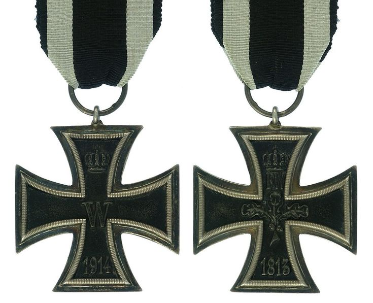 Iron Cross 2nd Class my great-grandfather had the 1914 cross