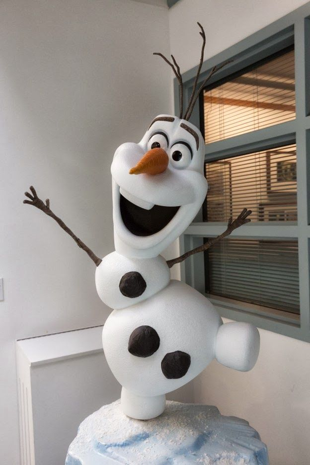 Frozen Movie Crafts | Olaf, The Snowman