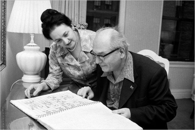 Olivier Messiaen and Yvonne Loriod