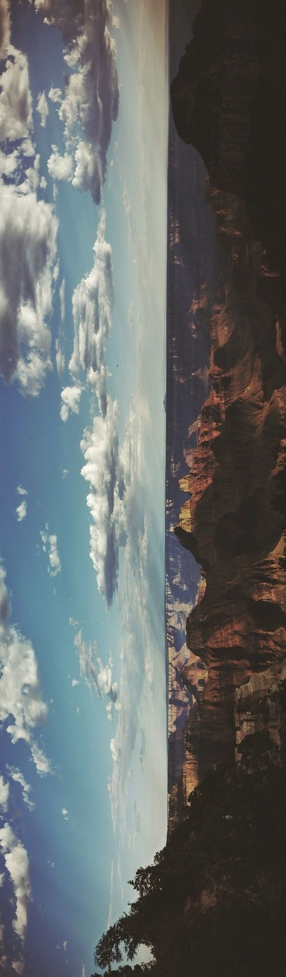 view from over the Grand Canyon! from tumblr