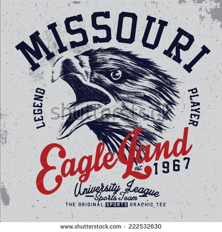 eagle tee graphic