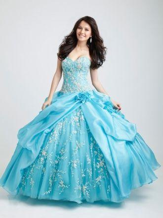BallGown Sweetheart Organza Floor-length Blue Quinceanera Dress at http://www.sweetquinceaneradress.com/ballgown-sweetheart-organza-floor-length-blue-quinceanera-dress-spd-86.html