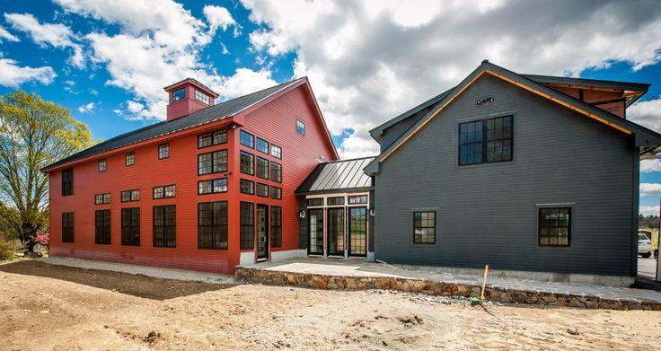 Contemporary Yankee Barn Home