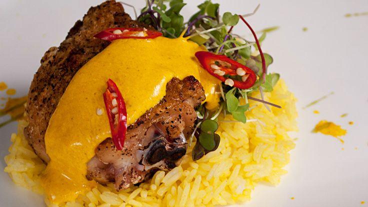 Thai-Style Chicken Biryani (Khao Mok Gai)