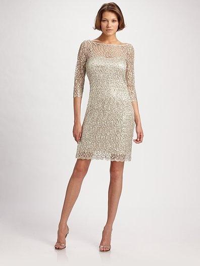 silver anniversary dress
