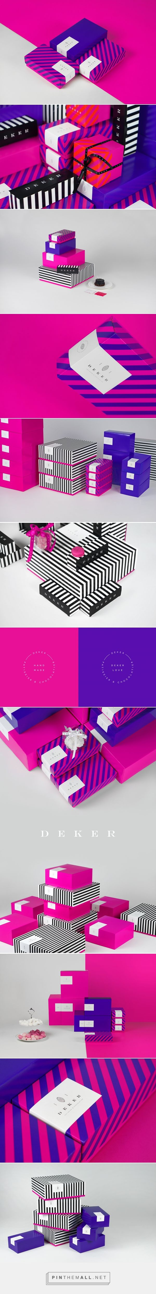 Deker Patissier and Chocolatier Branding and Packaging by Less.   Fivestar Branding Agency – Design and Branding Agency & Curated Inspiration Gallery