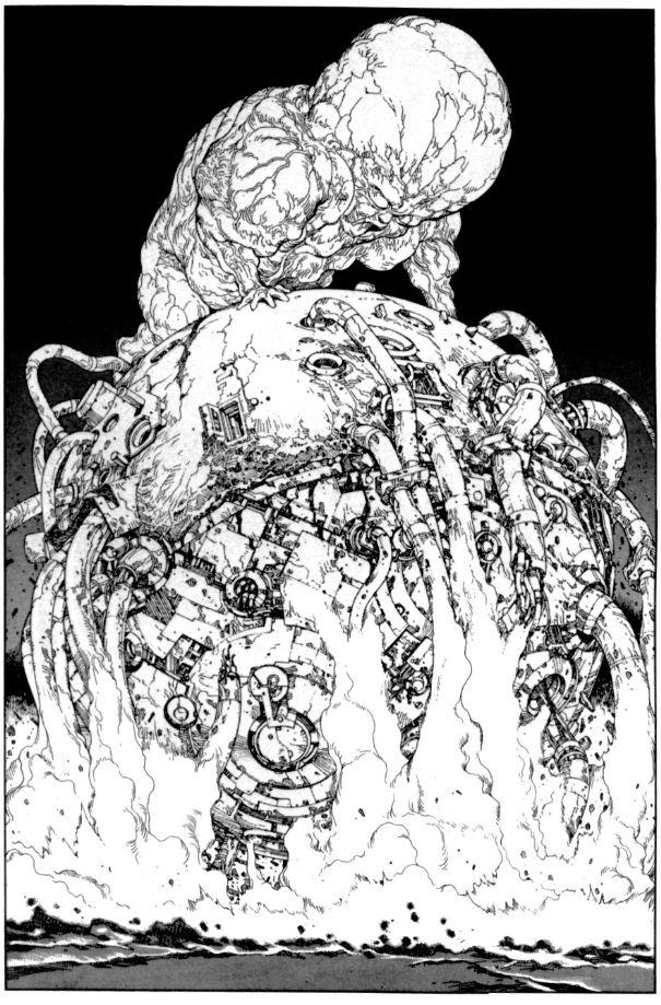 Katsuhiro Otomo dessin