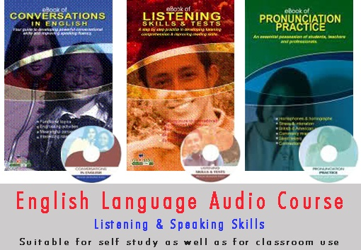Download free English language learning ebooks and audio mp3s