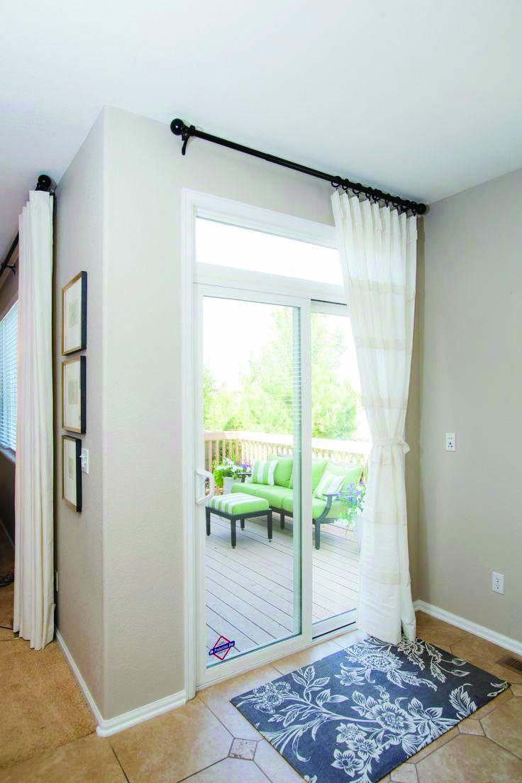 Extra Long Sliding Door Curtains