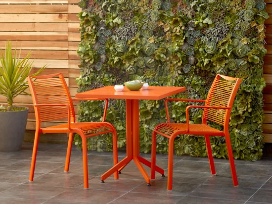 Charming Scandinavian Designs   Transform Your Outdoor Space With Our New Alohaa  Table. Lightweight, Stylish