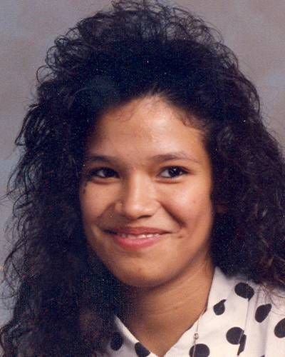"Maria Mauricio Missing SinceJun 20, 1997 Missing FromPhoenix, AZ DOBMay 25, 1977 Age Now37 SexFemale RaceHispanic Hair ColorBrown Eye ColorBrown Height5'3"" Weight130 lbs Both photos shown are of Maria. She was last seen on June 20, 1997. Maria has three tear drops tattooed near her right eye and tattoos on her upper back, right arm, lower left leg, left fingers, and right hand."