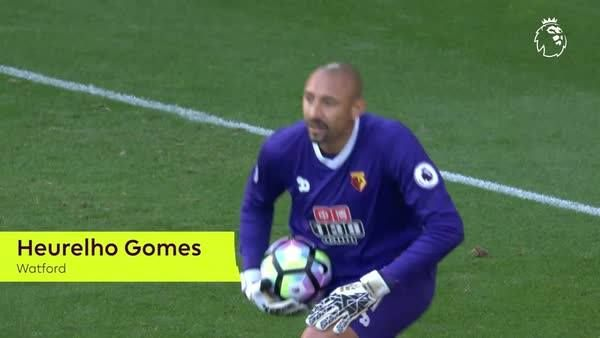 Making his PL debut in 2008 was a 'dream come true'  Watford FC goalkeeper Heurelho Gomes is now on 171 & counting