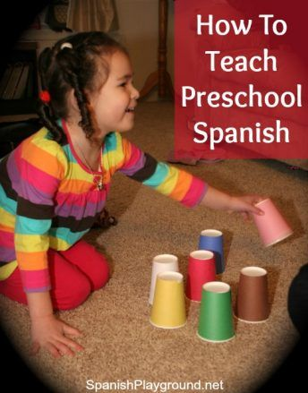 These ten components are key to a successful preschool Spanish lesson.