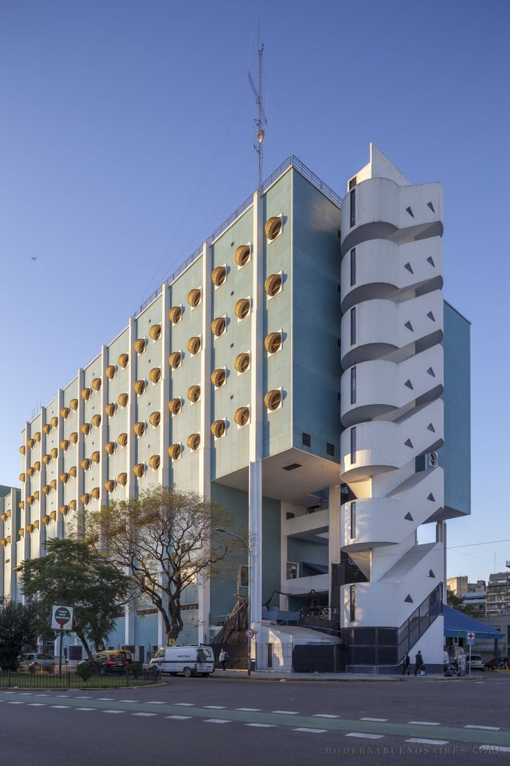 Hospital naval - Clorindo Testa - 1970