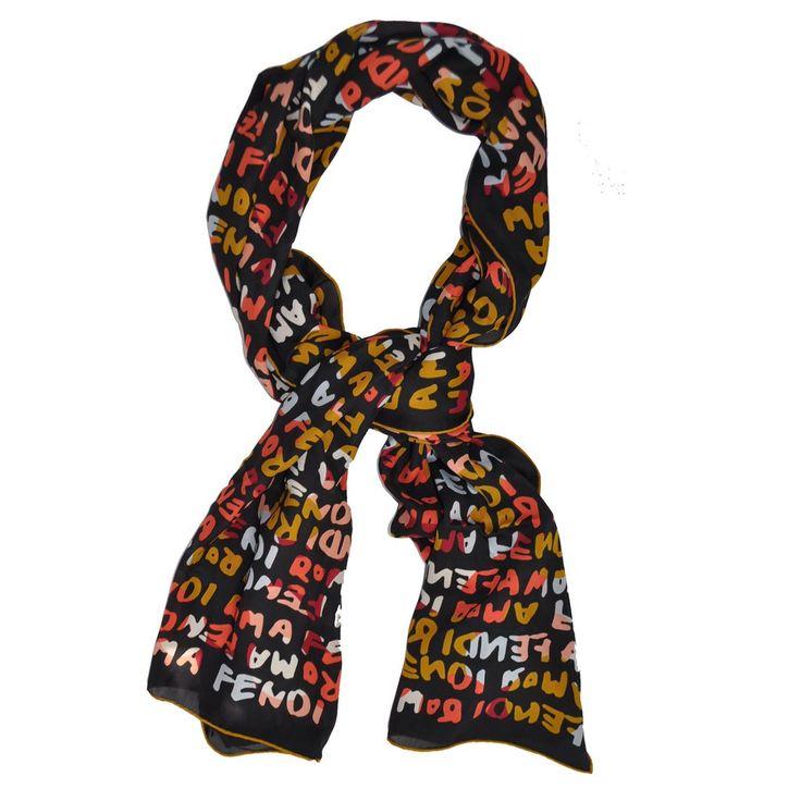 Best 25+ Fendi scarf ideas on Pinterest | Scarfs, Olivia d\'abo and ...