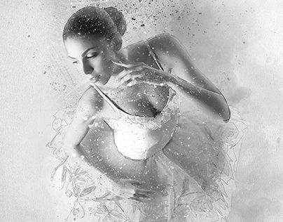 "Check out new work on my @Behance portfolio: ""Ballerina"" http://be.net/gallery/57618839/Ballerina"