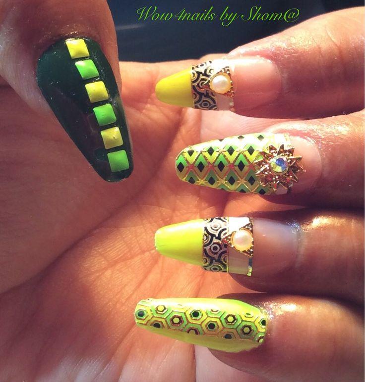 1000+ Ideas About Acrylic Nail Art On Pinterest