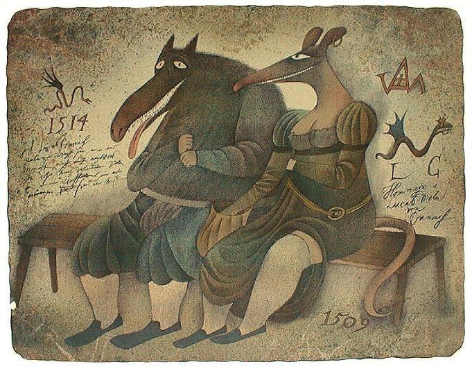 Адольф Борн (родился 12 июня 1930), чешский художник и иллюстратор и кинорежиссер.