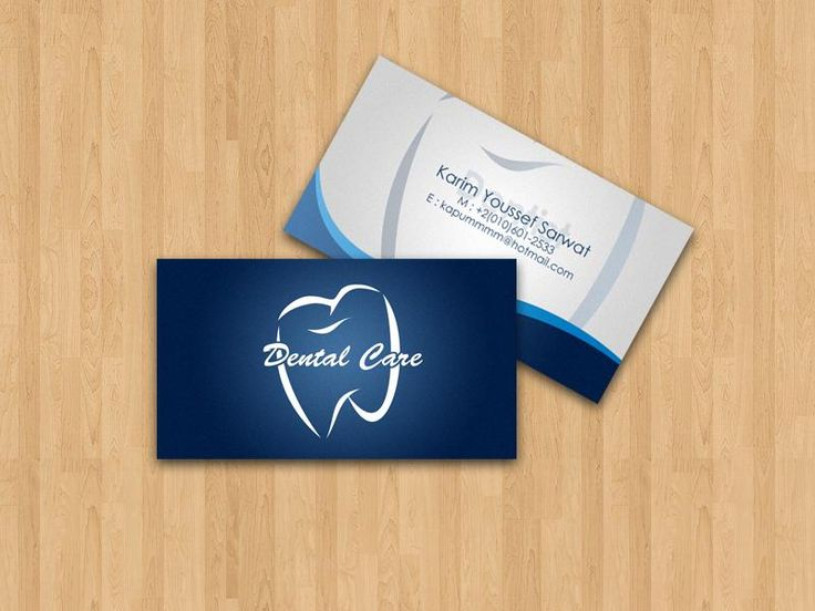 Dentist card by xtrdesign on deviantart in 2020 dental