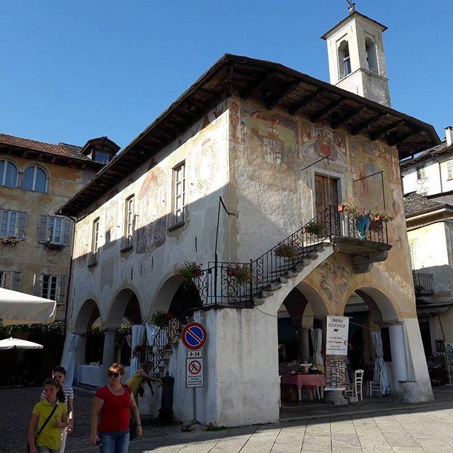 Orta San Giulio - piazza