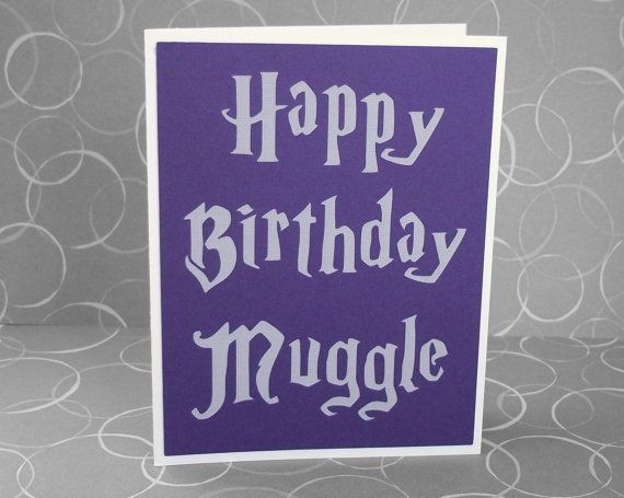 191 best images about birthday party ideas – Harry Potter Birthday Card