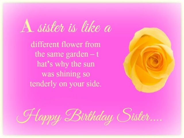 19 best Happy Birthday Quotes Images for Brother Sister Friend – Birthday Greetings to a Sister Quotes