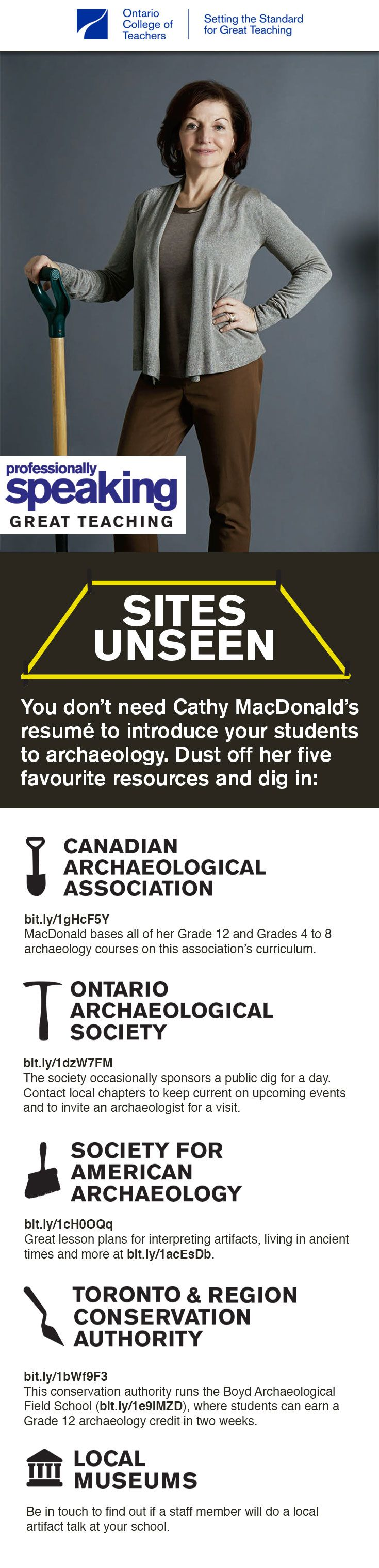 Dust off these five favourite resources and introduce your students to #archaeology. #education #educational #Canadian #archaeological #lessonplans #lessonplan #classroomideas #classroomplans