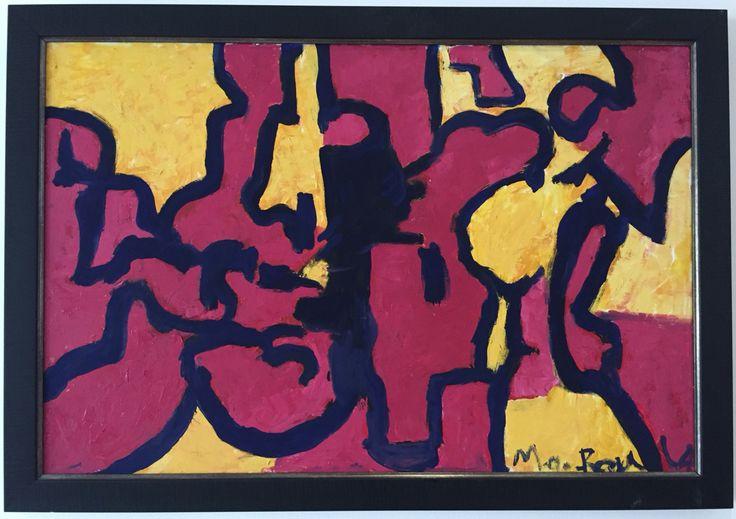 Emoción 120x80 Acrílico sobre lienzo Abstracto