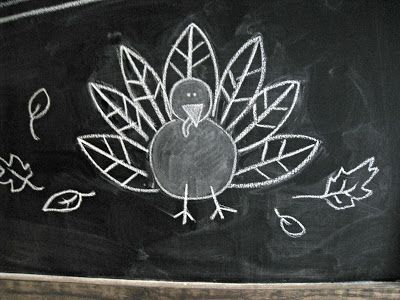 Thanksgiving Chalkboard - The Lilypad Cottage                                                                                                                                                                                 More