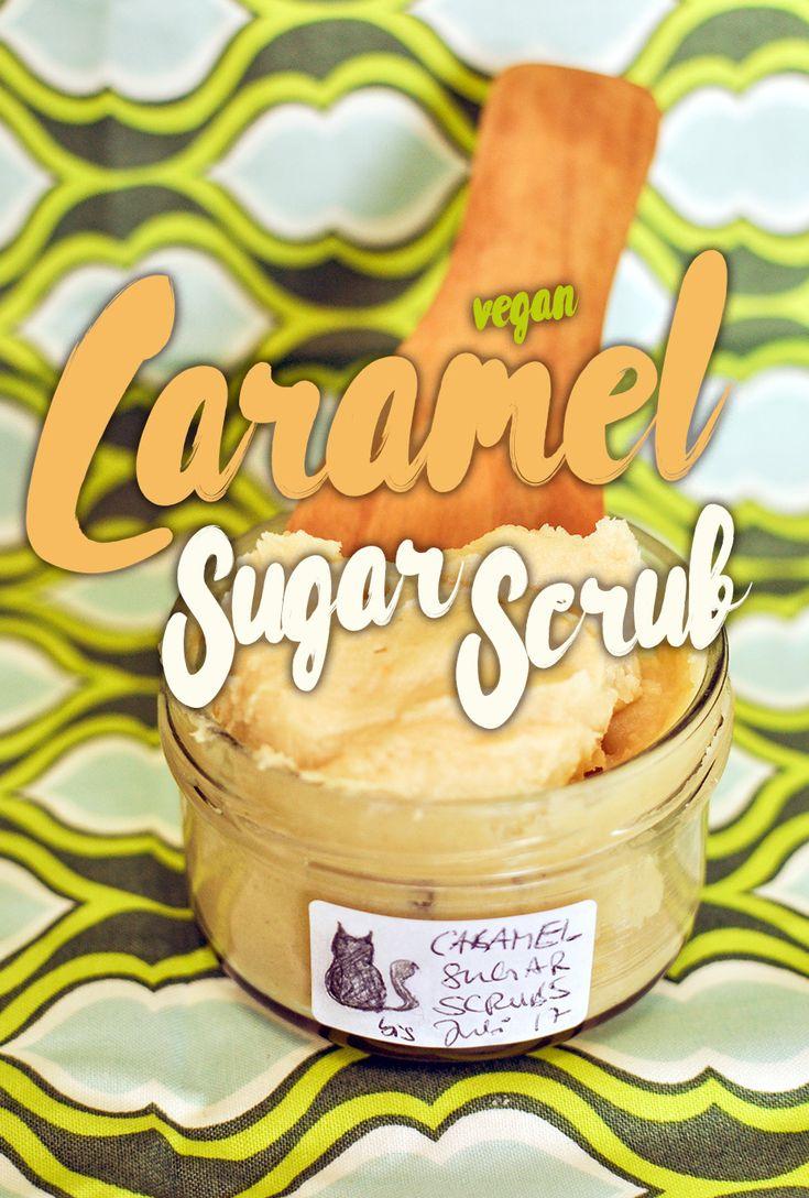 Caramel Sugar Scrub Duschpeeling riecht sau lecker nach Süßwaren und reinigt die Haut so sanft, dass es auch für Kinder bestens geeignet ist!