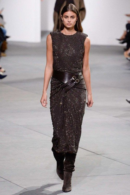 taylorhilltr: NYFW: Taylor Hill walks for Michael Kors Fall17