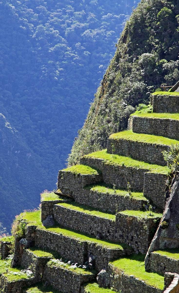 Machu Picchu, an Inca Citadel high in the Andes Mountains of Peru #EscapeExplore #Travel