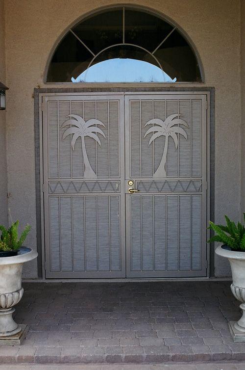 Pictures of screened entryway decorative screen doors by for Indoor screen door