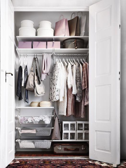 Begehbarer kleiderschrank ikea algot  422 besten IKEA ALGOT Bilder auf Pinterest | Ikea algot ...