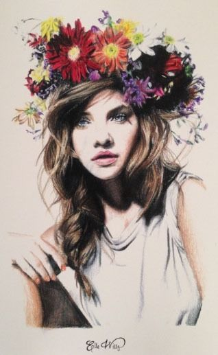 Elle Wills - this is a pencil drawing! Amazed.